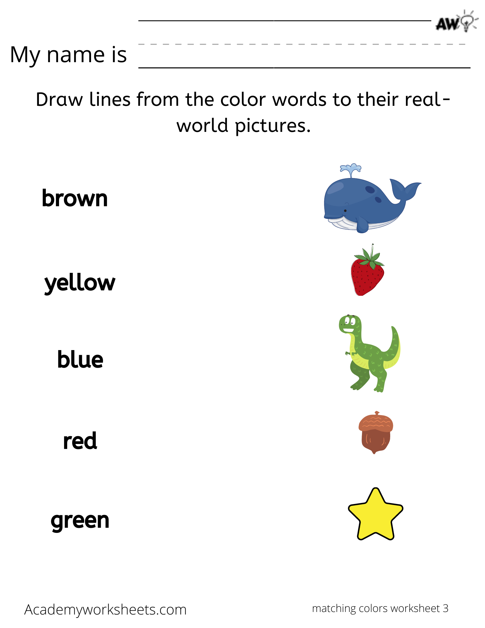 learn to spell your colors