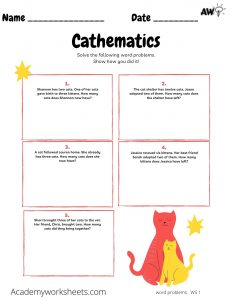 Worksheets - Add and Subtract
